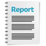 Easy Read illustration of a report